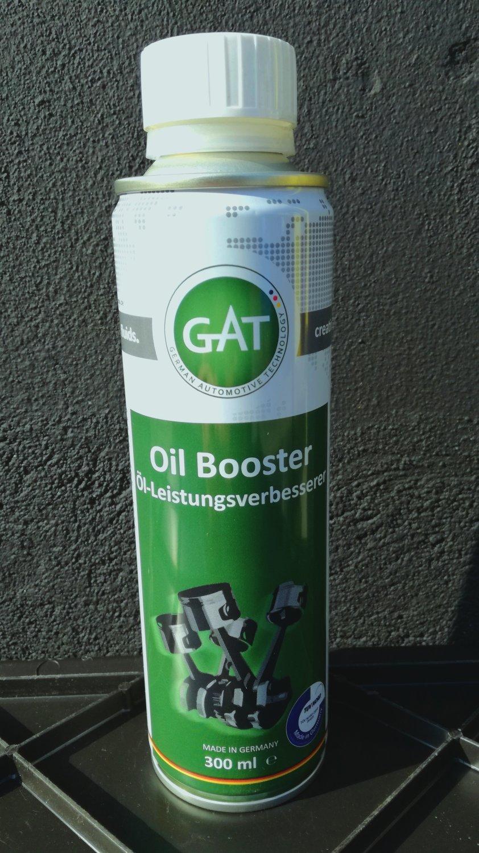 Gat Oil Booster - Péče o ochranu motoru